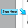 Create custom inline signatures and initials directly inside the contract, use as many as you need.